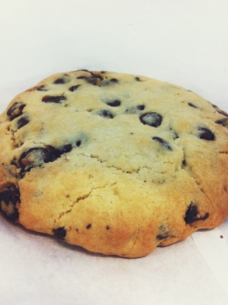 A half pound cookie from Icebox at DFW